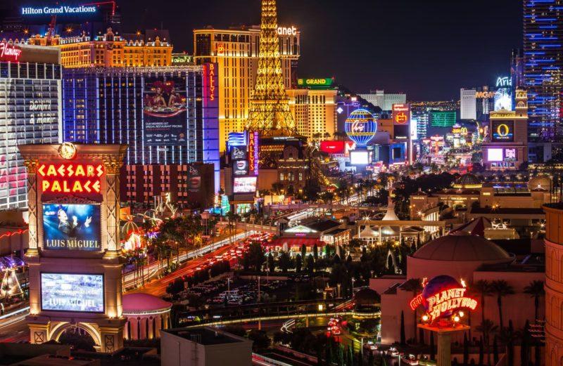 Sol, sex og snakking – en uke i Las Vegas.