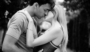 det første kysset